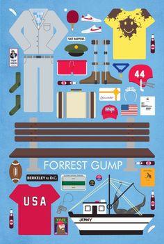 Forrest Gump (#infograph - kinda)