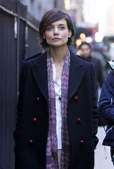 Katie Holmes Katie Holmes leaving 'The Extra Man' movie set in NYC.