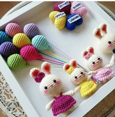 Crochet Toys Crochet Necklace Projects To Try Headphones Baby Boy Crochet Dolls Amigurumi Stall Signs Plushies Easter Crochet, Crochet Bunny, Crochet Animals, Crochet Dolls, Knit Crochet, Crochet Decoration, Yarn Crafts, Baby Knitting, Crochet Projects