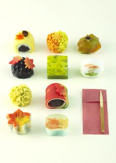 Sweets Japanese sweets shop of 10 is a representation of a natural neighborhood of each.