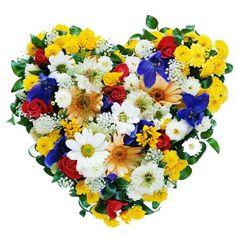 Купить букет «Сердце ассорти» на 14 февраля