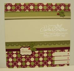 The Southern Stamper: Easy Scrapbooking with Contempo Christmas Card Bundle at 20% OFF!