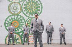 Los Angeles Industrial Wedding: Kari + Jaime