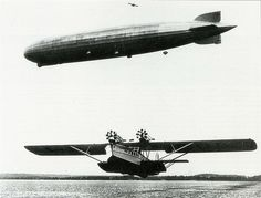 Dornier Do R4 Super Wal and LZ 127 Graf Zeppelin