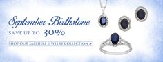 Shop our large selection of sapphire jewelry