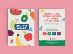 Monster Meals is a startup on a mission to make healthy food fun for school children. Healthy School Lunches, Healthy Meals For Kids, Healthy Habits, Kids Meals, Healthy Snacks, Easy Meals, Healthy Eating, Healthy Recipes, School Children