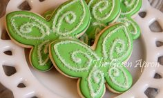 Fairy Wing (tinkbell Inspired) cookies by TheGreenApronAR, via Flickr