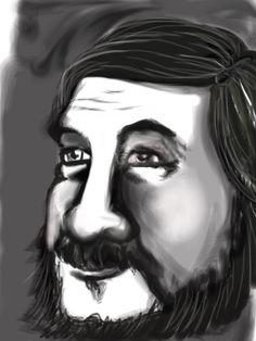 First drawing on iPad ( my dad)