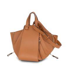 Loewe Cross Body Bags - HAMMOCK BAG tan