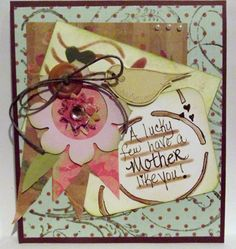 Mother's Day card. Did several layers. Loved how it turned out.