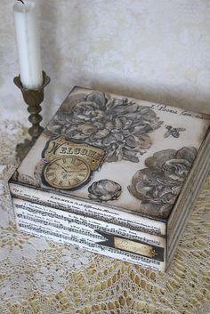 Krabičky - Krabička, šperkovnička Time flies - 4995111_