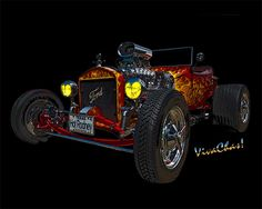 23 Ford Hot Rod the Stuff of Dreams a Cherry Model T pickup Roadster