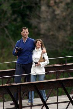 Felipe y Letizia de luna de miel en Cuenca