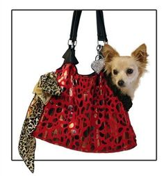 d57d97d764e8d4 Western Outpost RunAround Pet Carrier Tote Red with Animal Foil    You can  get additional