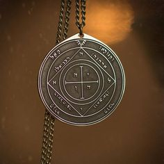 Goetia Fifth Pentacle of Saturn Solomon kabbalah amulet