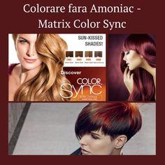 Matrix Color Sync - Colorare fara amoniac Trateaza parul in timpul vopsirii datorita Uleiului de Jojoba, Polimerilor si Complexului de Ceramide din compozitie.