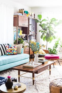 Flea markets and vintage shops are full of sofas and chairs with classic, beautiful lines—and not-so-beautiful fabrics and details. We asked blogger and stylist Emily Henderson for expert tips on how to reupholster your furniture.