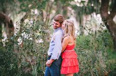 casual outdoor engagement