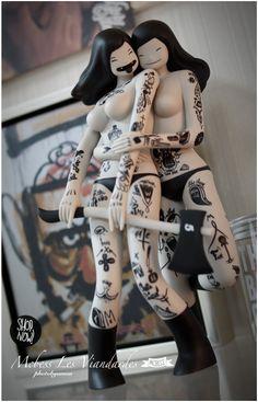 mcbess Hobby Toys, Call Art, Toy Art, Masks Art, Beautiful Anime Girl, Vinyl Toys, Designer Toys, Hello Dolly, Figurative Art