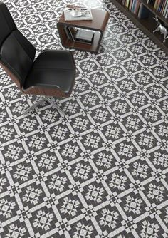 Serie WORLD PARKS  es un pavimento, de la colección ATLAS, con apariencia de hidraulico perfecto para tu salón. | VIVES Azulejos y Gres S.A.