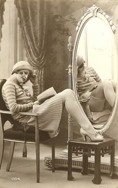 1920s French Postcard