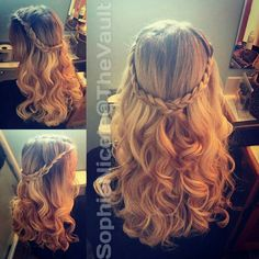 Super cute hairstyle Super Cute Hairstyles, Braided Hairstyles, Wedding Hairstyles, Gorgeous Hairstyles, Picture Day Hair, New Hair Look, Daddy Daughter Dance, French Braid, Hair Looks