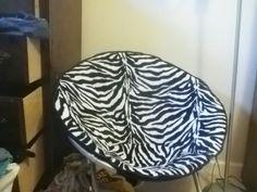 Zebra saucer chair Household Items, Bean Bag Chair, Furniture, Home Decor, Decoration Home, Room Decor, Home Goods, Beanbag Chair, Home Furnishings