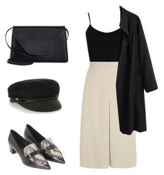 A fashion look from August 2015 featuring bralette tops, lightweight coat and knee length skirts. Browse and shop related looks. Shoe Bag, Polyvore, Stuff To Buy, Outfits, Shopping, Collection, Shoes, Design, Women