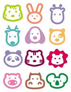 橡皮章, Eraser Craving , Printmaking, Japanese Rubber Carving Patterns, Tools, Tutorials , cute, kawaii , DIY, Crafts, animals, adorable