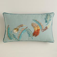 Feathers Lumbar Pillow   World Market