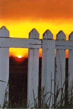 Montana Country Sunset