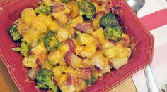 Chicken Potato Bake with Bacon