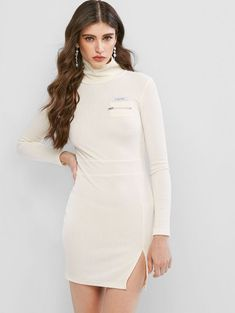 Plus Size Women Turn-down Collar Short Sleeve Buttons Stripe Print Bandage Dress