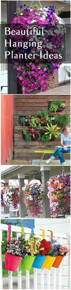 Gardening. home garden. garden hacks. garden tips and tricks. growing plants. gardening DIYs. gardening crafts. popular pin. hanging planter ideas. outdoor planter