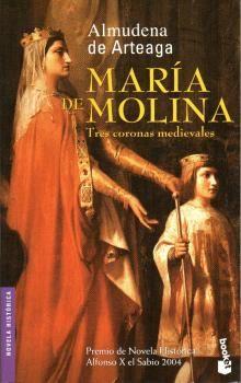 Esta novela narra, la intensa vida de María de Molina, esposa de Sancho IV de Castilla. Una mujer única que en plena Edad Media gobernó tres veces a su pueblo y siempre sufrió por amor. Pinchando en la imagen se accede al CATÁLOGO.