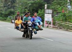 The habal-habal is a mode of transportation in the Philippines that was born out of people's need to travel rough terrain and narrow roads. But this improvised motorcycle is not for the faint of heart: It is often ridden beyond its capacity, which means it could carry up to 10 passengers–including their baggages.