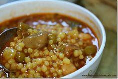 recette de berkoukes , cuisine algerienne  Plus de découvertes sur Le Blog des Tendances.fr #tendance #food #blogueur