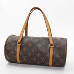 Louis Vuitton  Papillon 26 Monogram Handle bags Brown Canvas M51386