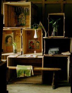 Plus de 1000 id es propos de quoi faire avec des caisse - Que faire avec des caisses en bois ...