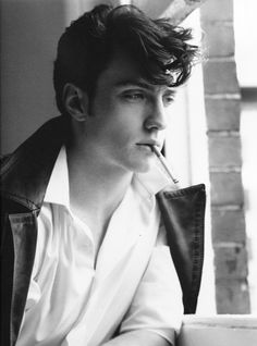 Nothing Seems As Pretty As The Past: Photoshoot: Aaron Johnson in Man About Town
