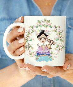 Look at this #zulilyfind! Frida & Monkey Mug #zulilyfinds