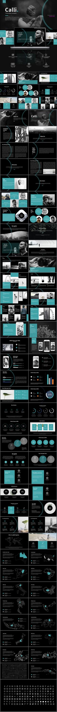 Calli Powerpoint Template - PowerPoint Templates Presentation Templates