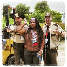 The Walking Dead cosplay at the San Diego Comic Con 2013  #SDCC #TheWalkingDead #Zombies #SanDiego #Comiccon #cosplay #series #rickgrimes #michonne #zombie #tvseries #horror #cosplayer #costume #denachtvlinders #sandiegocomiccon #sdcc2013
