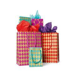 Torebki na prezenty. 2 duże lub 3 małe, lub 2 wysokie, 4 zł/zestaw #giftbags #tigerstores #christmas