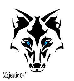 Tribal Wolf Tattoo | Tribal Wolf 2 by ~Majestic2966 on deviantART
