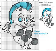 Baby Pegasus - Disney Hercules pattern by Monica