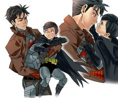 Reverse: Little Batman and Jason Todd