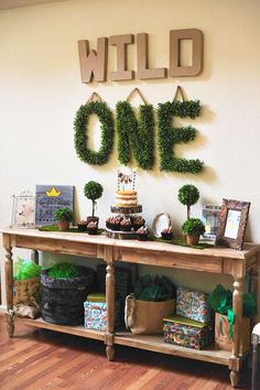Where the wild things are Birthday Party Ideas | Photo 2 of 22
