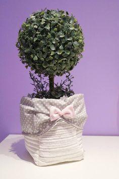 tekstylny koszyczek:)