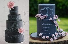 chalkboard-wedding-cakes-by-the-little-malvern-cake-co_-australia-left-pure-cakes-by-mila-right.jpg